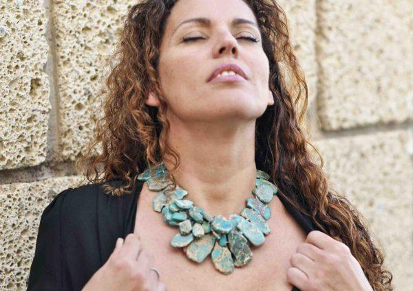 Collares de Moda en turquesa Natural 4