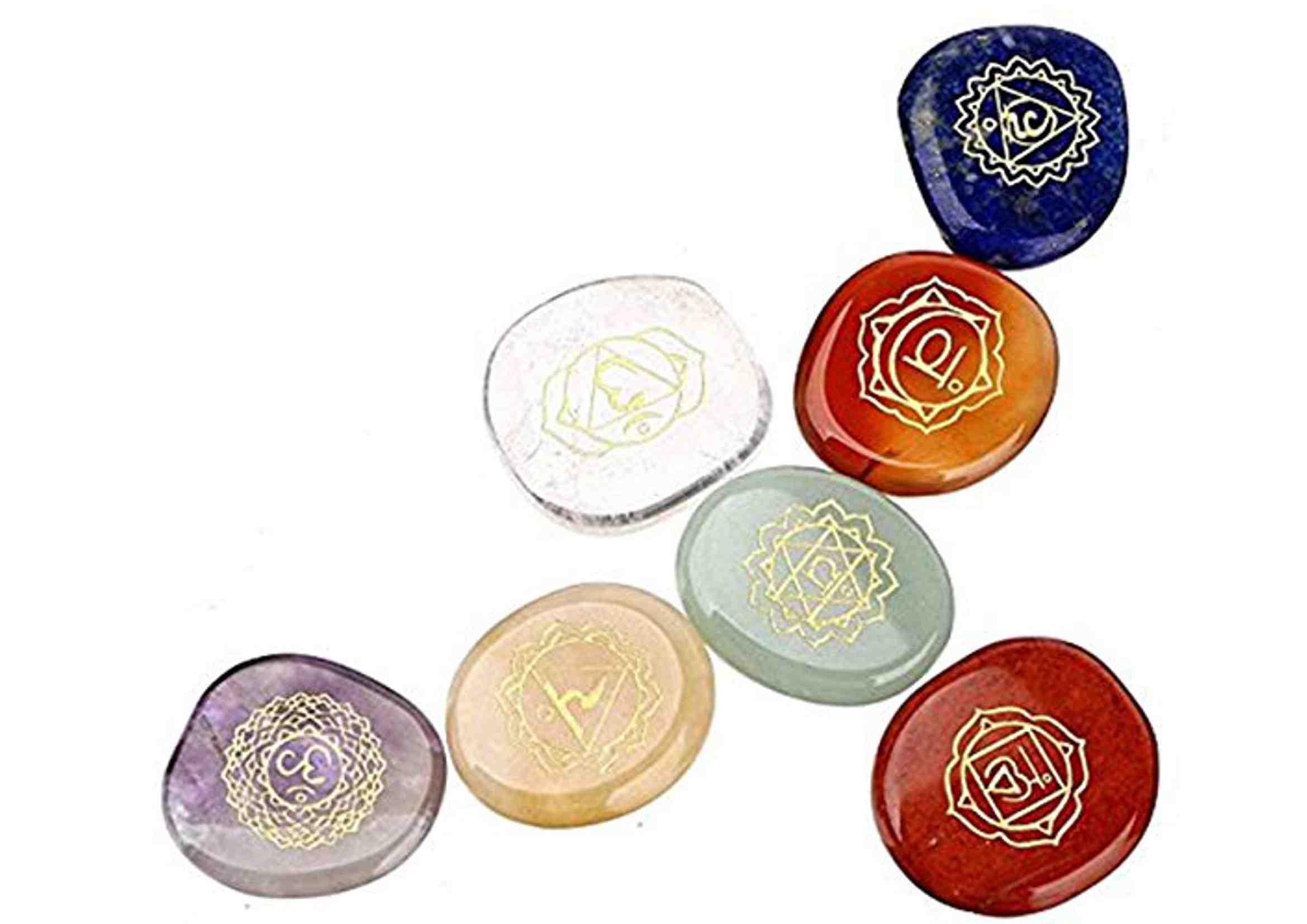 Las 7 piedras de los chakras
