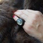 anillo cuarzo rutilado