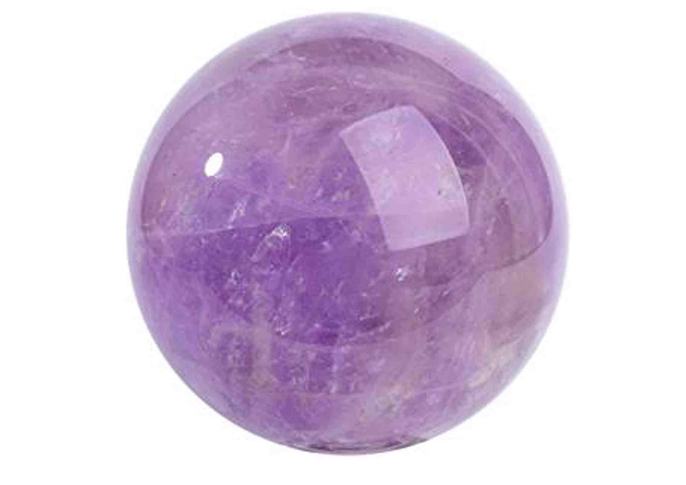 bola de amatista natural feng shui