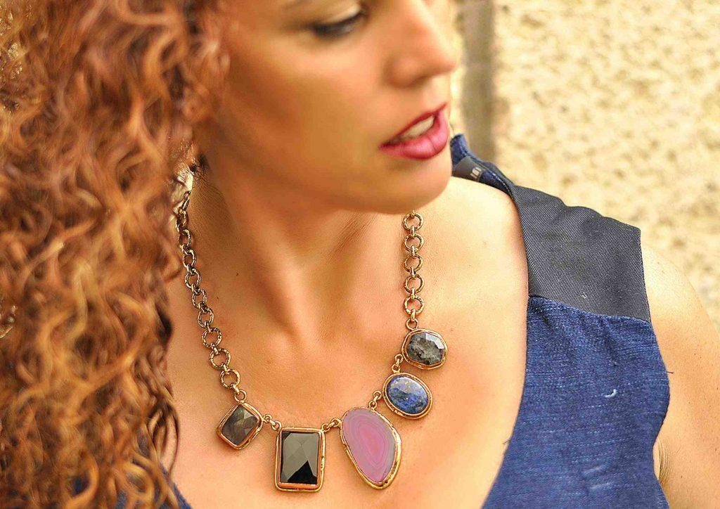 collares de piedras naturales