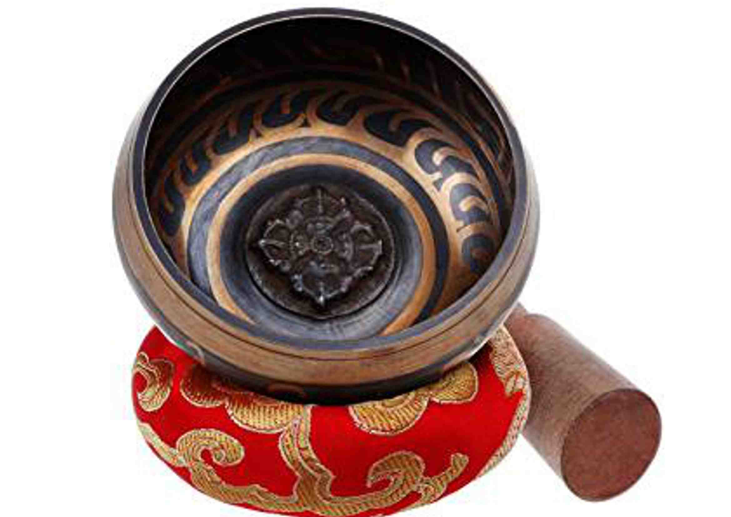 cuenco tibetano para desbloquear chakras