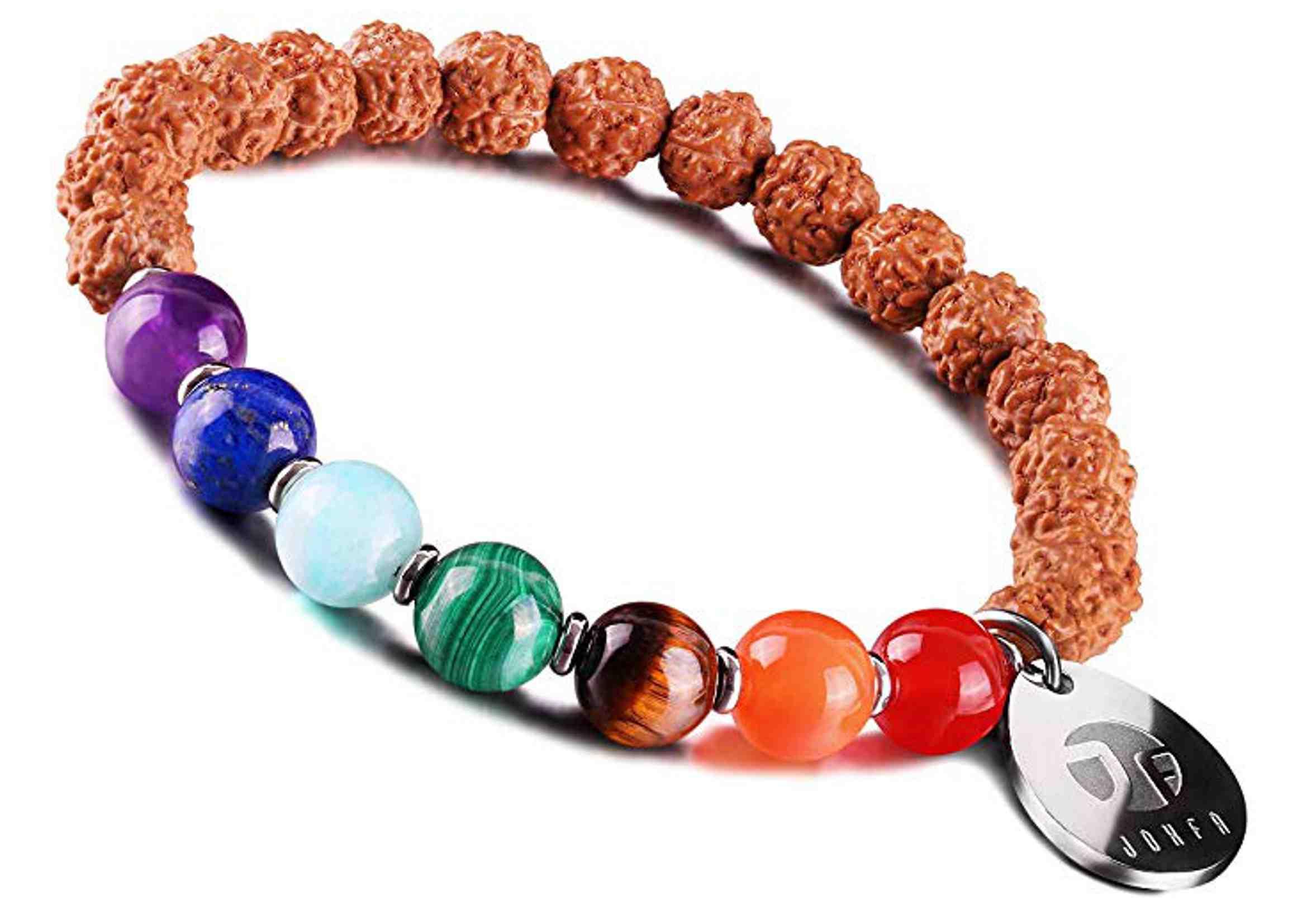 pulsera de piedras naturales de los chakras