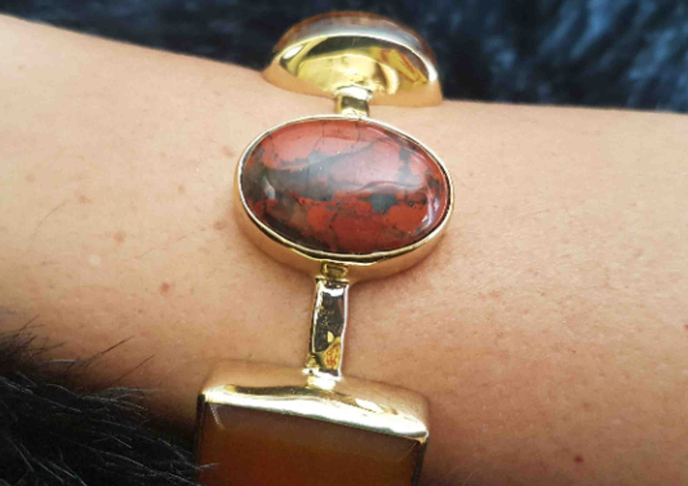 pulseras de moda de agata piedras naturales 1