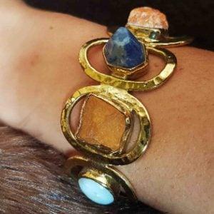 pulseras de moda en piedras naturales 6