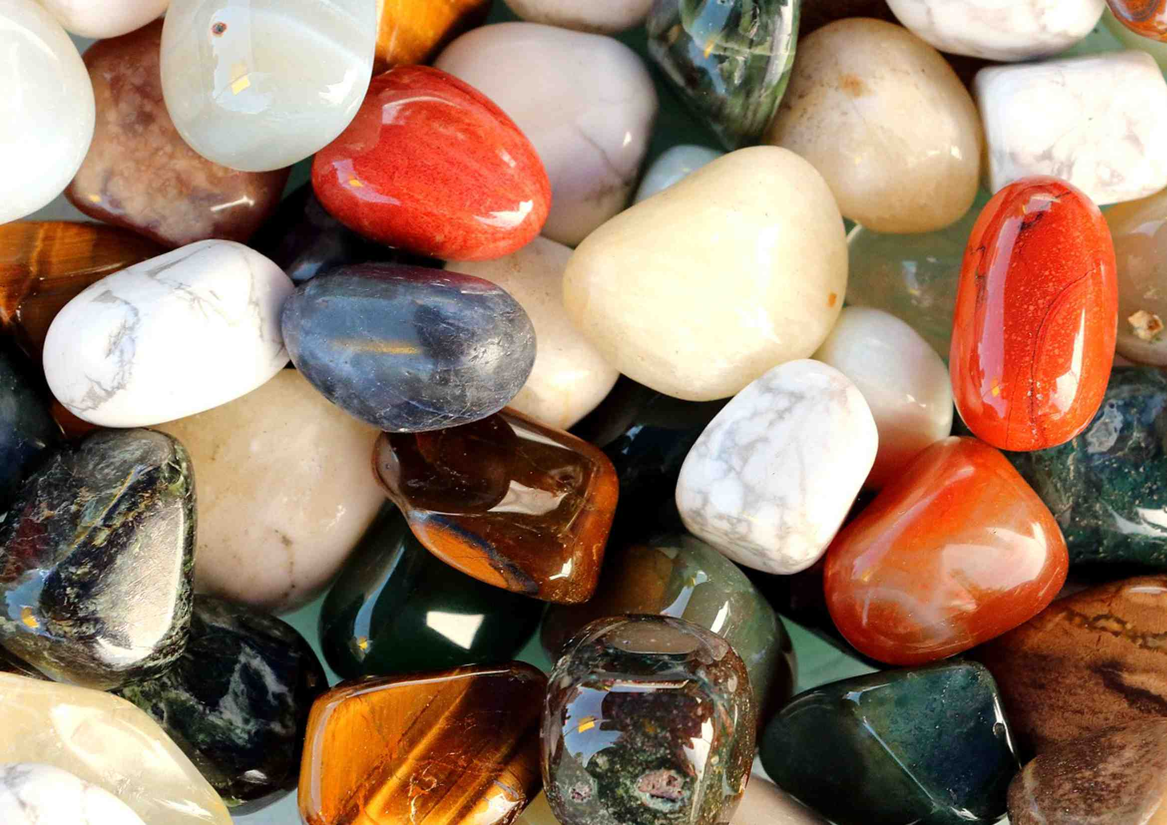 Semiprecious Stone Sellection