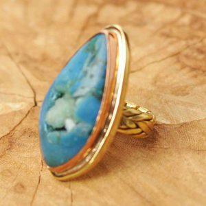 anillos-boho-de-agata-azul