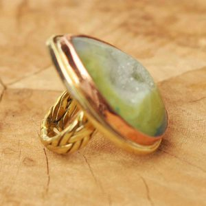 anillos-boho-de-geoda-de-agata-verde